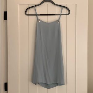Urban Outfitters Light Blue Slip Mini Dress